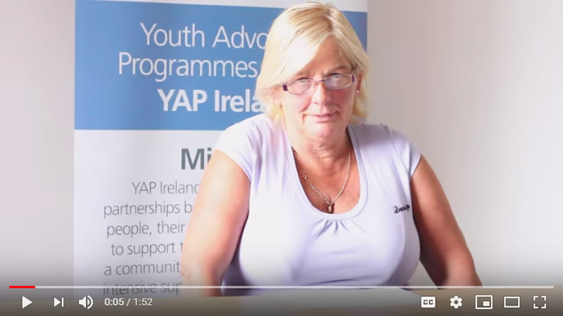 YAP Ireland Parent Bridget