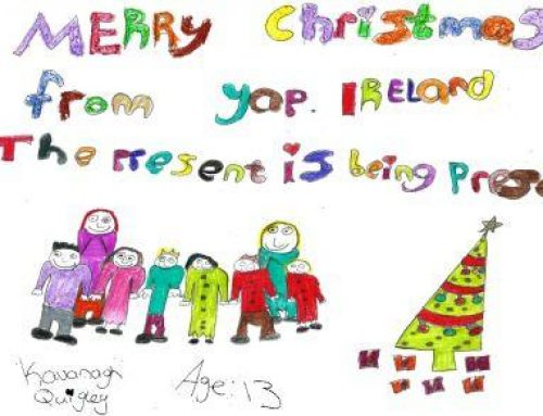 Kavanagh from Dublin the winner of YAP Ireland's Design a Christmas Card Competition 2012