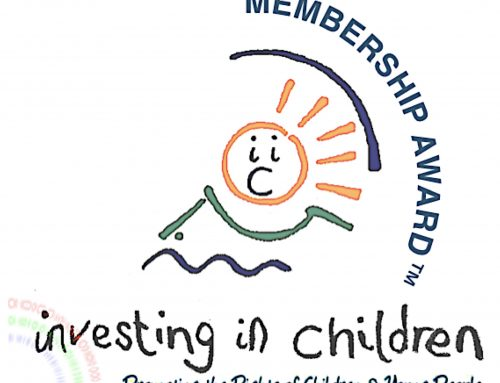 YAP Ireland delighted to be awarded Investing in Children membership award for 4th year in a row!