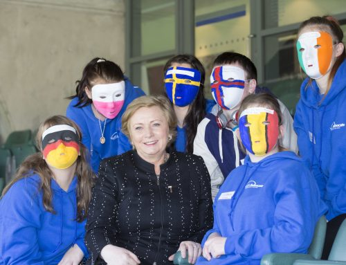Celebrating the success of the YAP Ireland 'I am a Citizen' Event