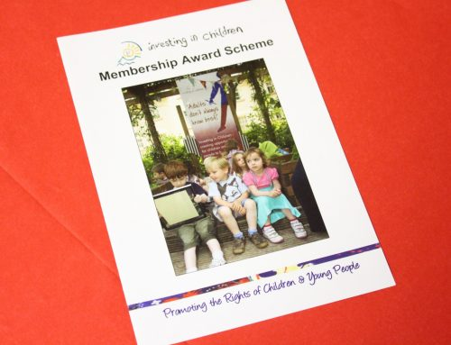 Investing in Children Membership Award Scheme Launch