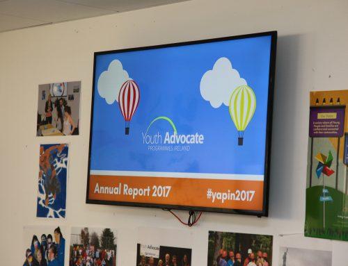 YAP Ireland launch Annual Report 2017