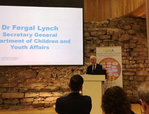 YAP Ireland CLG Attend the Launch of TUSLA National Children's and Young Peoples Charters