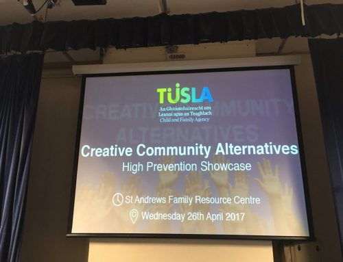YAP Ireland CLG Present Stand at TUSLA Creative Community Alternatives Showcase