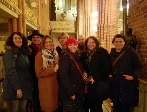 YAP CEO Siobhan O'Dwyer Visits Botkyrka YAP in Stockholm