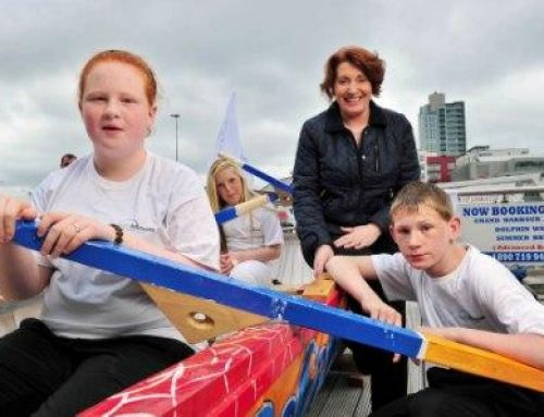 Launch of the YAP Ireland Currach