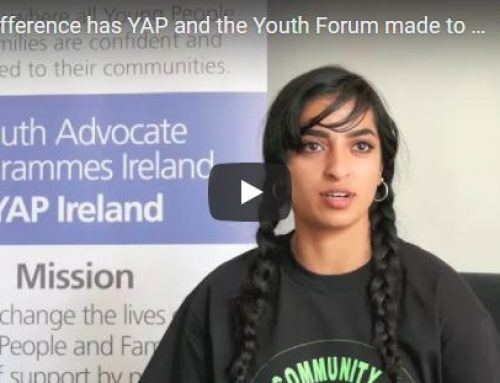 What difference has YAP and the Youth Forum made to you?